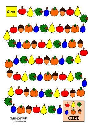 Jesenná spoločenská hra pre deti