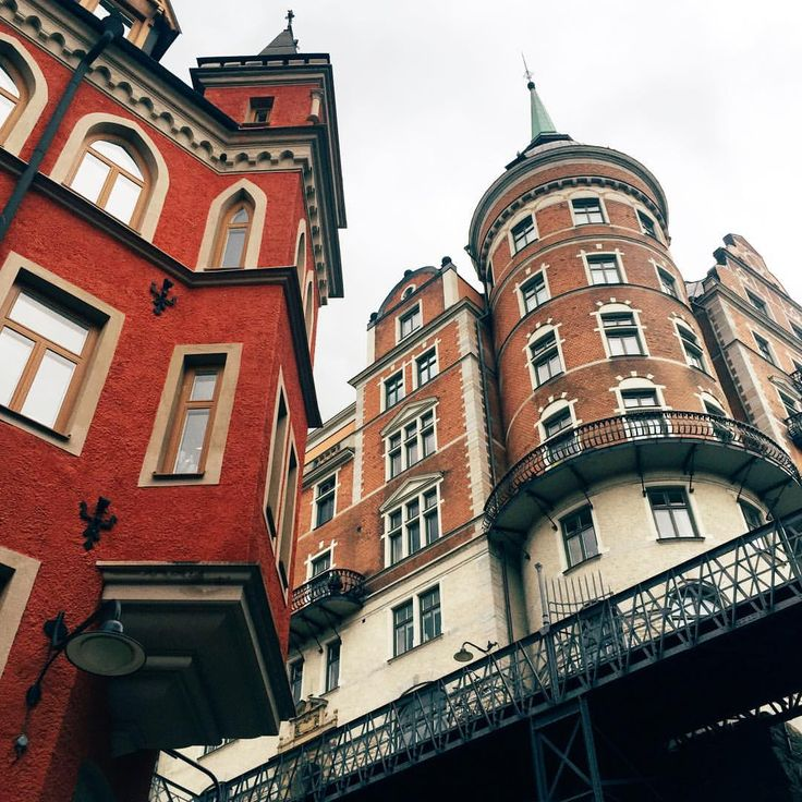 Always look up! :) #visitstockholm #stockholm