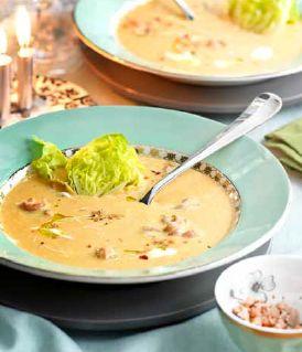 soep Recept: Bisque met Hollandse garnalen