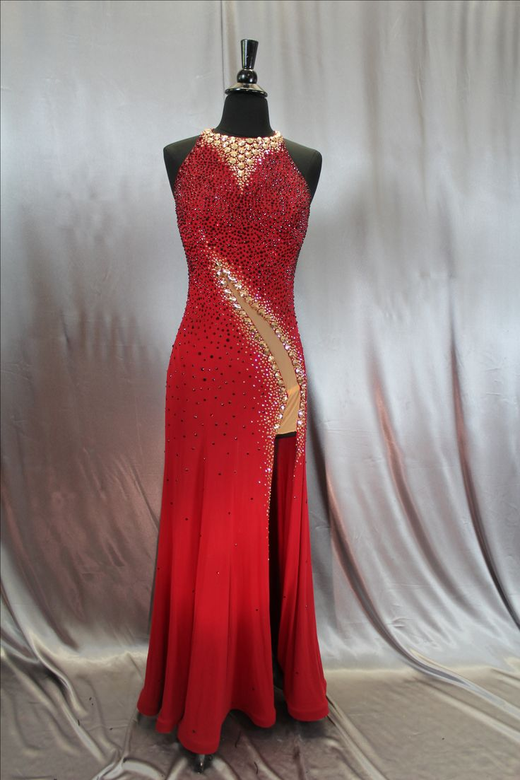 gostoso ballroom dress porn