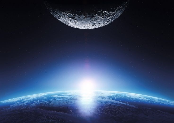 1920x1357 mission to the moon hd pc wallpaper