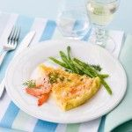 tortino-soffice-allo-zenzero-con-i-gamberi ricetta