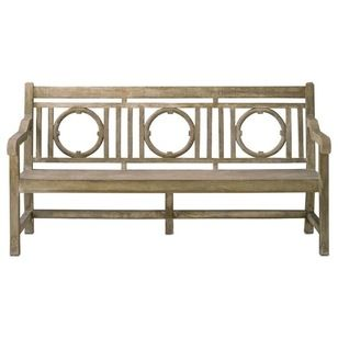 Traditional Outdoor Benches by Alinda Morris Interior Design LLC