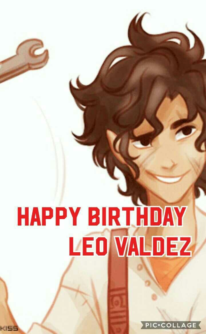 I missed it but it's NEVER too late to say... HAPPY BIRTHDAY LEO VALDEZ MR MCSHIZZLE MAN BAD BOY SUPREME! Thanks for making us laugh and uh saving the world n stuff. #LeoValdezBirthday