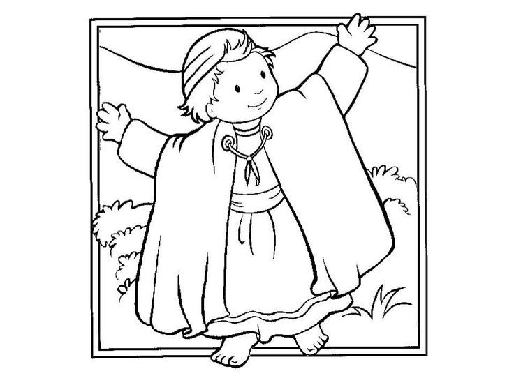 bible coloring sheets for preschoolers - 736×552
