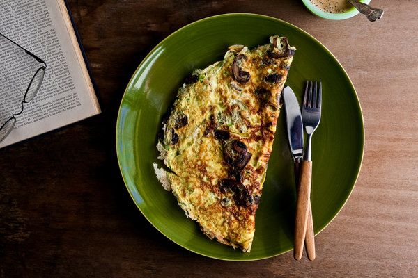 Mushroom and Herb Omelet | Health, Herbs and Recipes for