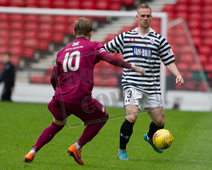 Queen's Park's Craig Mcleish on the ball during the SPFL League Two game between Queen's Park and Arbroath.