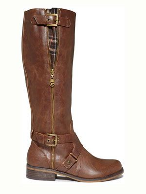 Yes please! G by GUESS 10 Cute and Cheap Knee-High Wide Calf Boots For Women | Gurl.com