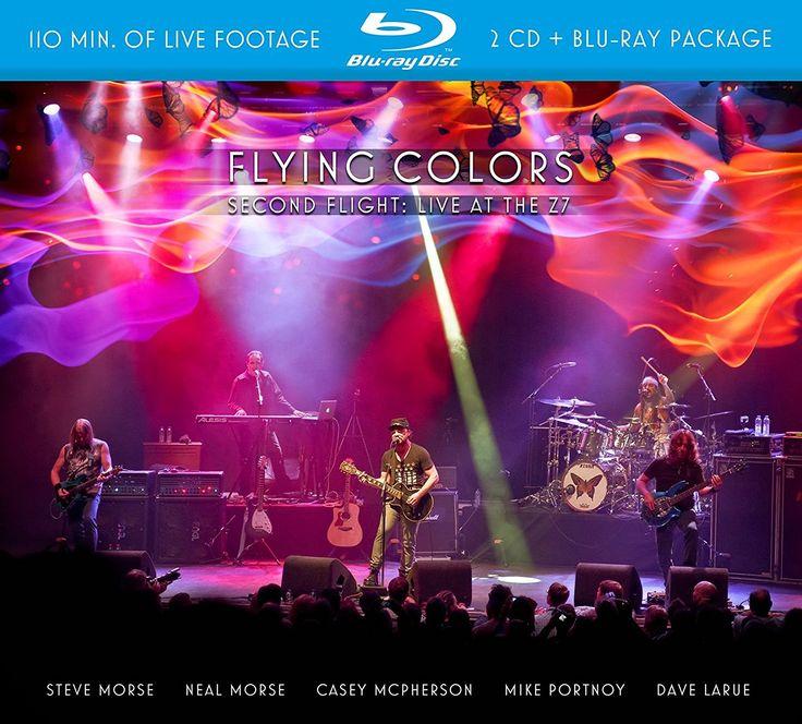 Flying Colors [Second Flight: Live at the Z7]. 2015.  Artwork : Ray Koch & Thomas van der Kooi.