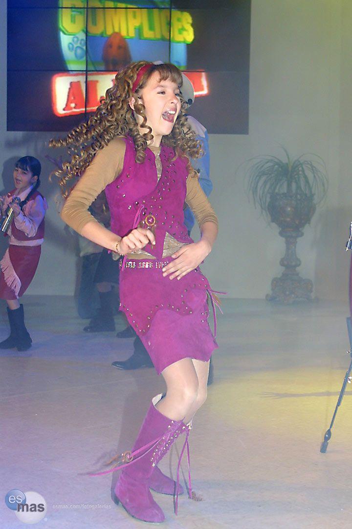 Así bailaba en el 2002 en el show de la telenovela Cómplices al Rescate. <span class=foto_source>(esmas.com/Marco Polo Dávila)</span>