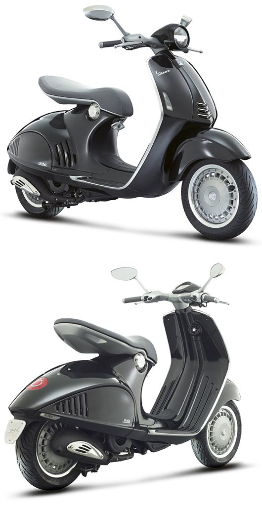 See the latest Vespa 946 Scooter by Piaggio More Photos: http://freshersmag.com/vespa-946-scooter-by-piaggio/