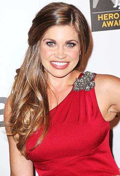 Danielle Fishel stepped out for the 3rd Annual American Humane Association Hero Dog awards at the Beverly Hilton Hotel.