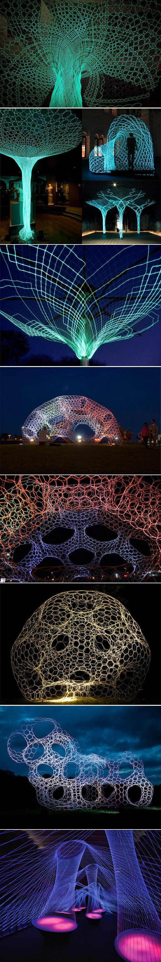 Loop.pH Studio // ephemeral textile architecture and living environments.