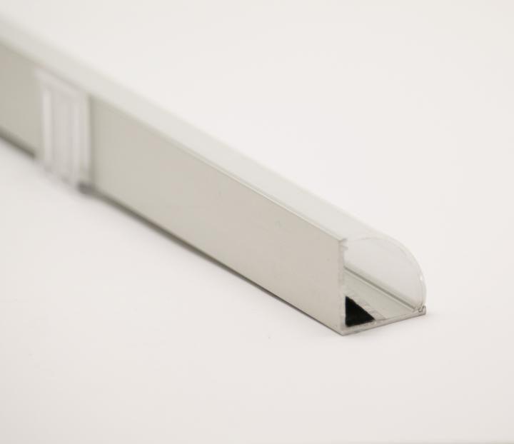 Aluminum Profile 90 Arc Cover Square Cover In 2020 12v Led Strip Lights Led Led Strip Lighting