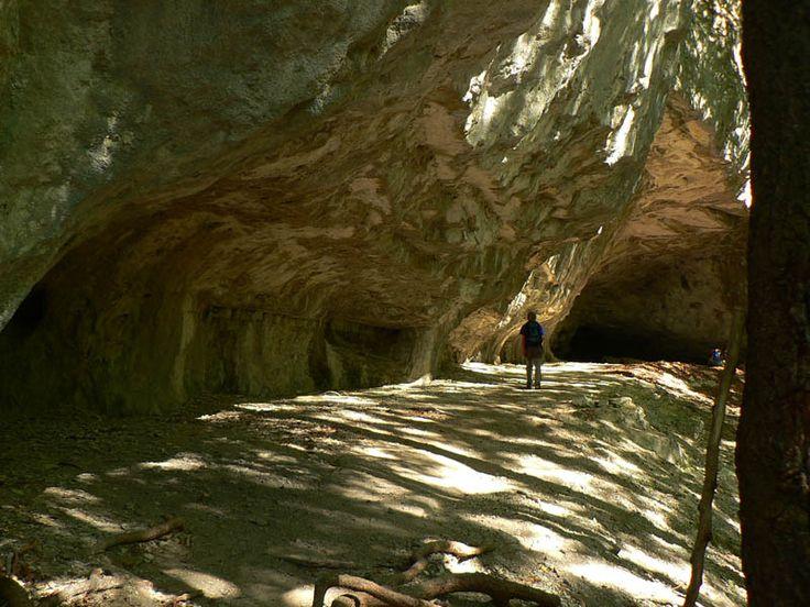 Vstup do jaskyne Mažarná