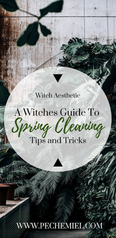 A Witchs Guide to Spring Cleaning