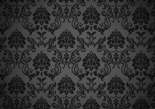 Papier peint baroque foncé Photographie stock