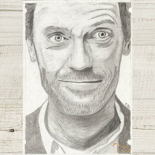 #art #drawing #drawings #drawingart #graphitedrawing #graphiteart #pencil #instaart #rajz #művészet #drhouse #hughlaurie #actor