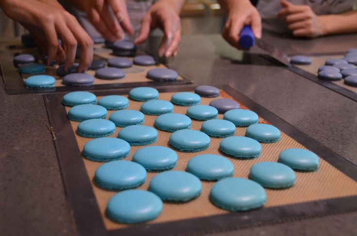 If you've ever made macarons before, you know how very finicky those wonderfully delicious cookies can be! There are so many factors to consider from meringue techniques right down to the humidity ...