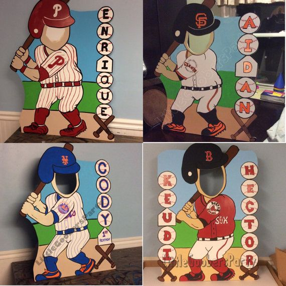 Personalized Baseball Party Photo Booth Prop by LittleGoobersParty