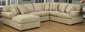 Living Room Furniture-Trudy 4 Pc. Sectional