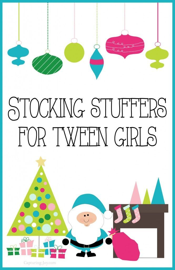 Stocking Stuffers For Tween Girls Christmas Gift Ideas