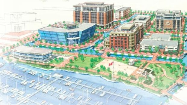 Canals would replace roads in Kelowna's downtown in a new proposal floated by the TaxpayersFirst civic slate.