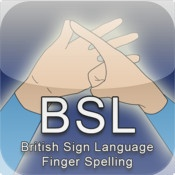 British Sign Language - Finger Spelling (Useful App for Hearing Loss)
