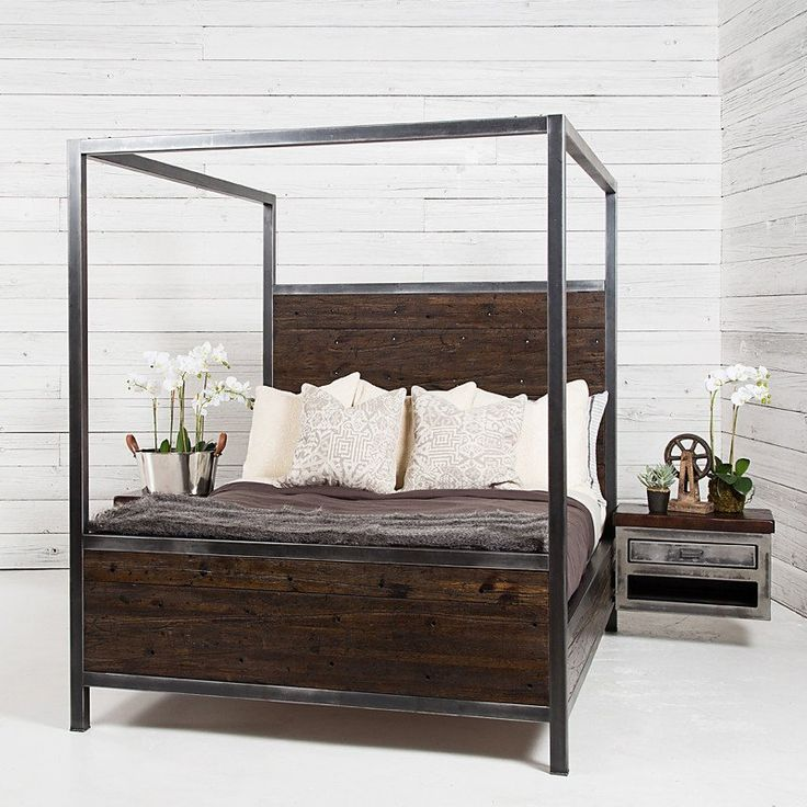 Semi Industrial Canopy Bed
