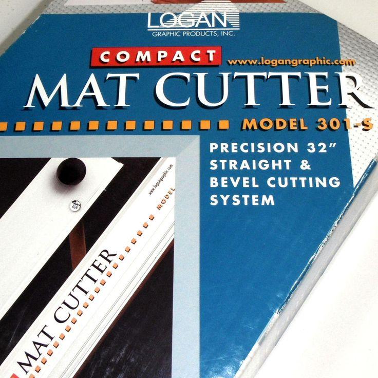 Logan Graphics 301 S 32 Compact Straight Blade Mat Cutter