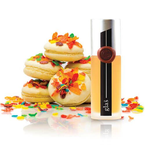 Glas E-Liquid PBLS 100ml - A sophisticated dessert blend of fruit cereal and macaroon, Pebbles boasts a powerful balance of creamy and fruit flavor with a sweet vanilla crisp on the exhale.70% VGShips from Glas LLC - California