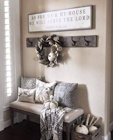 Love this simple way to create a comfy corner with just a little efforts!