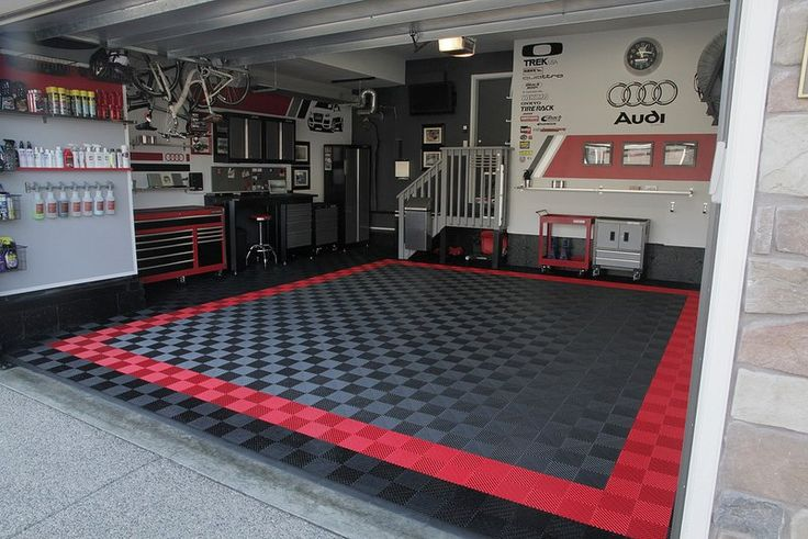 The ultimate man garage. Awesome!