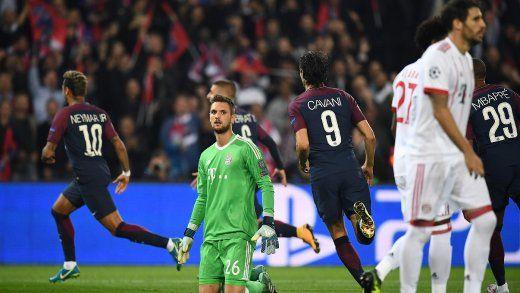 CH.L.17/18. Paris - B.München 3:0 - Bundesliga  europäisch in der Krise -Champions League: PSG zu schnell für den FCBayern