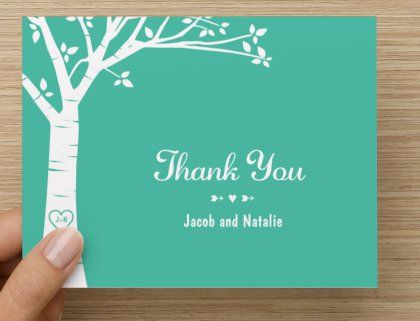 Wedding Thank You Cards From Vistaprint