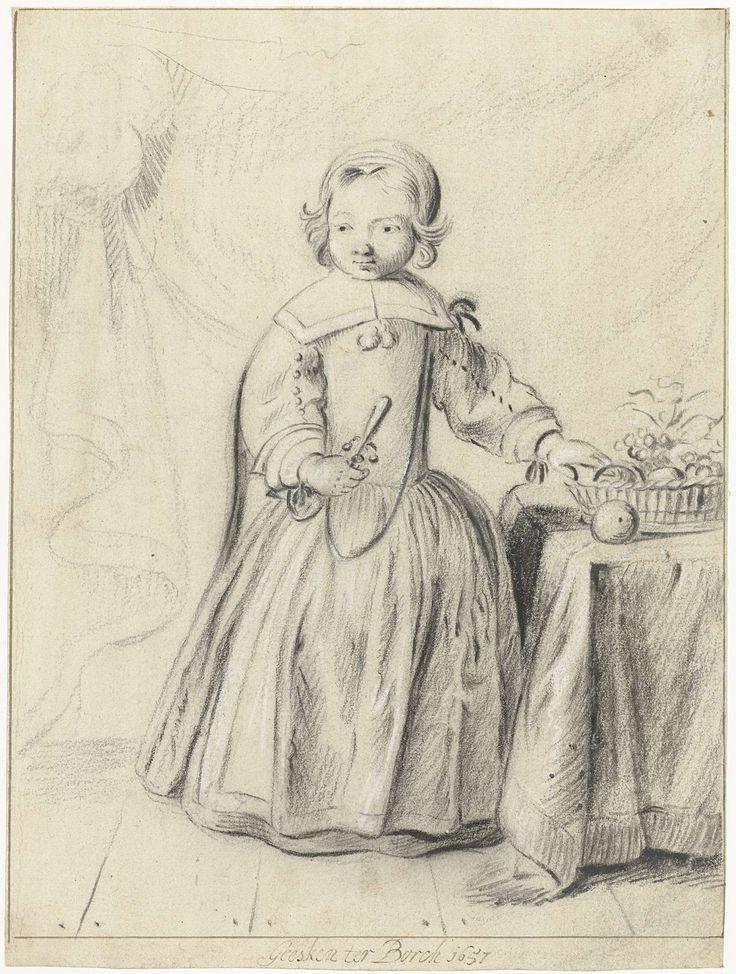 Gesina ter Borch, Portrait of a little boy, 1657 - Rijksmuseum Amsterdam