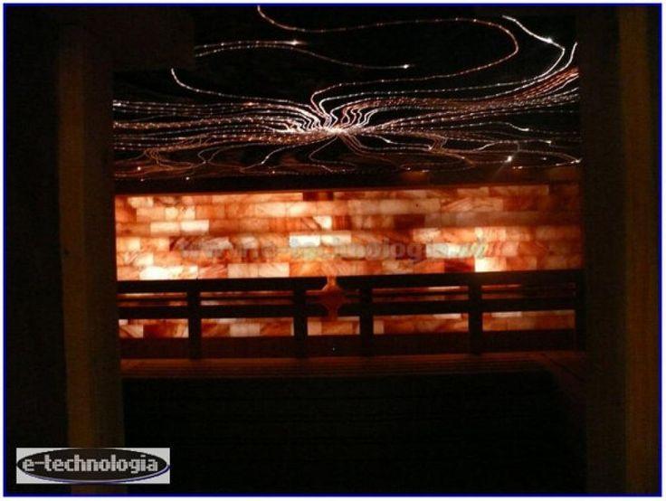oswietlenie sauna parowa - wystroj sauna parowa - aranzacje sauna parowa e-technologia