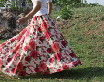 jupe en tulle, jupe tutu, jupe en mousseline de soie, mousseline de soie jupe maxi, jupe longue, jupe plissée, jupe de printemps par dongli