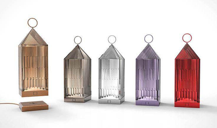 Kartell Rechargeable Lanterns designed by Fabio Novembre, Salone del Mobile 2016