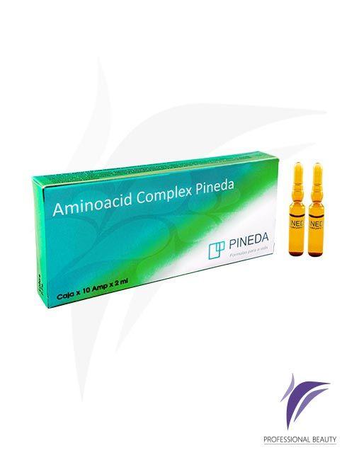 Aminoacid Complex Caja x10 ampolletas de 2ml: El Aminoacid Complex actúa como revitalizante, aportando aminoácidos vitales para el cuerpo y fortaleciendo el sistema inmunológico.