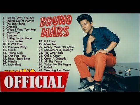 Top 10 Bruno Mars Songs | Bruno Mars Singer - YouTube