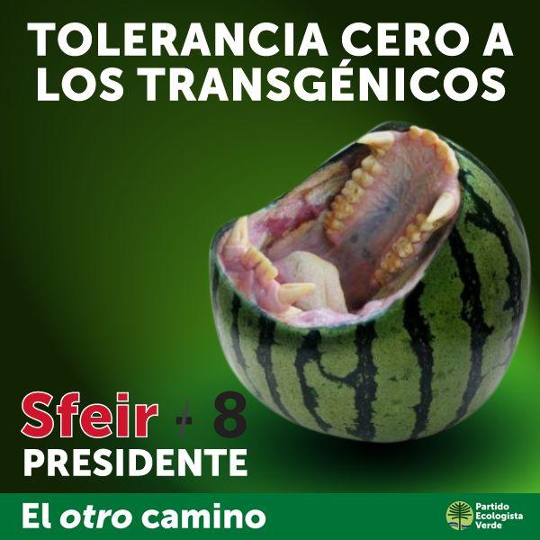 Tolerancia cero a los transgénicos