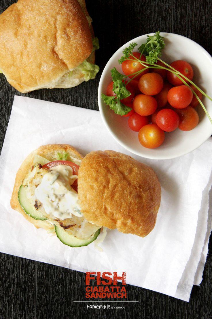 Fish Ciabatta Sandwich