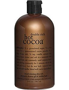 Philosophy Double Rich Hot Cocoa Shower Gel - my shampoo during my pregnancy and at the hospital.