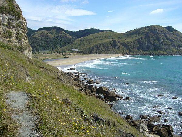 Waipatiki Beach, North Island, New Zealand - Wikipedia, the free encyclopedia