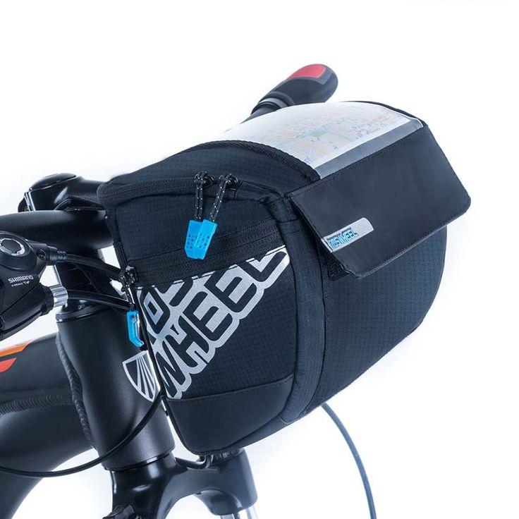 NEW ROSWHEEL 3L Bicycle Handlebar Bags Panniers 400D PVC Map MTB Road Bike Bags Cycling Front Bags Basket Bike Accessories 2016