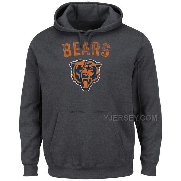 http://www.yjersey.com/chicago-bears-majestic-kick-return-ii-pullover-hoodie-charcoal.html CHICAGO BEARS MAJESTIC KICK RETURN II PULLOVER HOODIE CHARCOAL Only 45.00€ , Free Shipping!