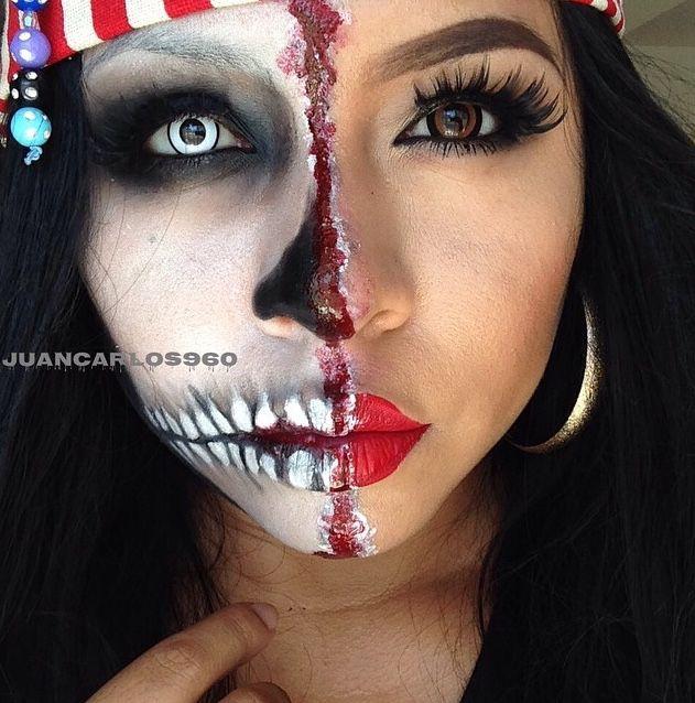 close up mujer pirata