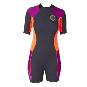 Rip Curl Wetsuits - Rip Curl Womens Dawn Patrol 2mm Shorty Wetsuit - Purple