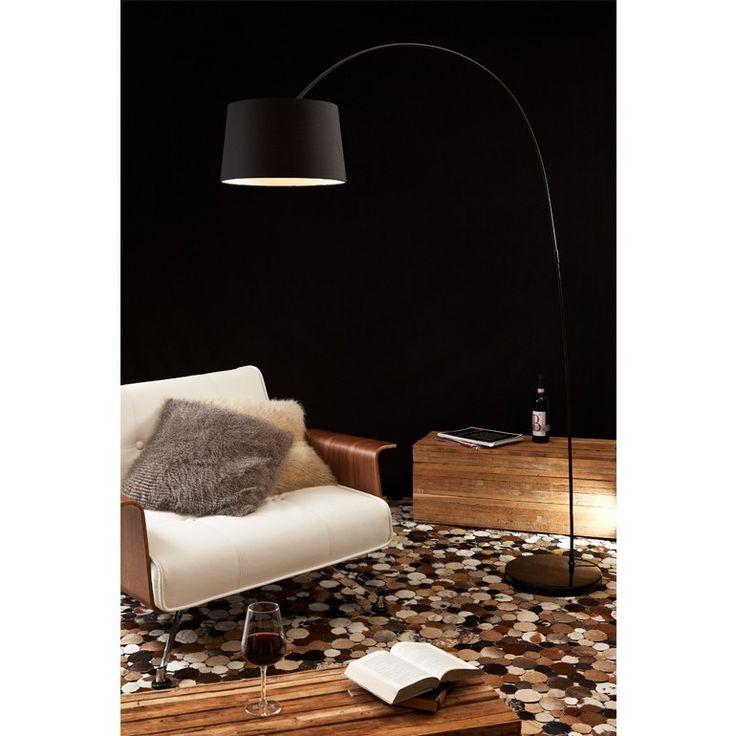 Bogenlampe Necko schwarz groß